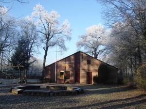 Clubgebouw Scouting Nanne Zwiep winter