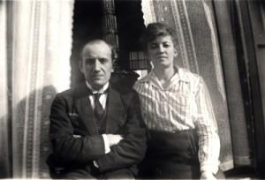 Nanne Zwiep met zijn vrouw Anna in 1920, toen ze nog niet zo lang getrouwd waren