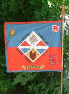 Het vaandel van Scouting Nanne Zwiep
