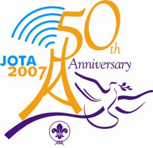 Logo van de 50e Jota in 2007