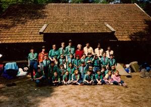 Welpenkamp 1989 in Bentelo