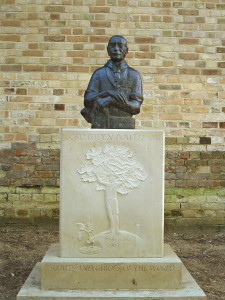 Lord Baden-Powell op Brownsea Island