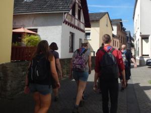 Rowans & sherpa's op kamp bij Koblenz
