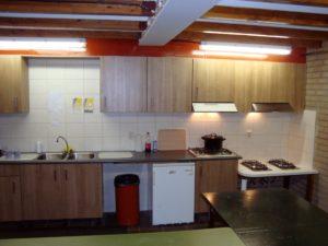 Clubgebouw - keuken