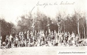 De foto van de Enschedese 'Padverkenners' uit 1913