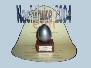 Nachthike 2004 - een eitje