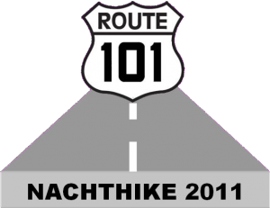 Nachthike 2011 - route 101