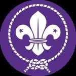 Het logo van de wereldvereniging (WOSM)