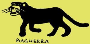 Ik ben Bagheera, de zwarte panter