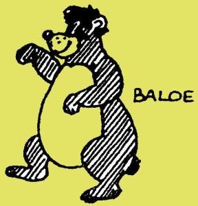 En ik ben Baloe, de bruine beer