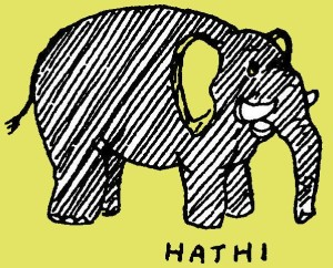 Mijn naam is Hathi, de olifant