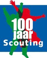 Logo 100 jaar Scouting in Nederland