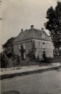 De pastorie van de NH-gemeente in Enschede en woning van Nanne Zwiep
