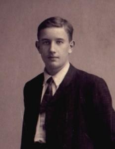 Nanne Zwiep in zijn tijd als scholier