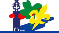Het oude logo van Scouting Overijssel