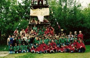 Groepsfoto 50 jaar Nanne Zwiep 1995