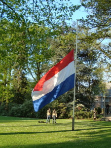 Dodenherdenking - Nederlandse vlag halfstok