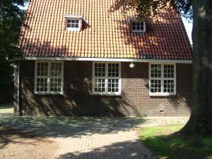Het verenigingslokaal achter de Oosterkerk in 2005