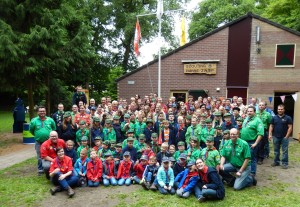 Our group at the celebration of the 70th anniversary on june 20th, 2015 - Click for a full size photo