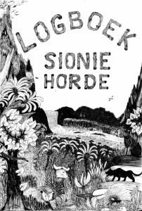 Tekening in het logboek van de Sionie Horde - klik om te vergroten