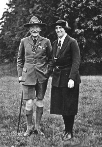 Lord en Lady Baden-Powell