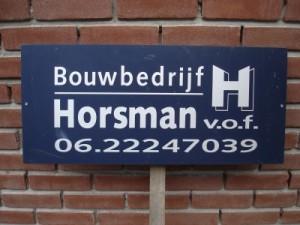 Bouwbedrijf Horsman v.o.f.