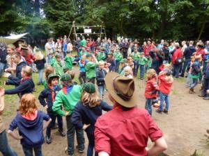 jubileumfeest 70 jaar Scouting Nanne Zwiep 2015