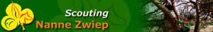 Een header van onze oude website