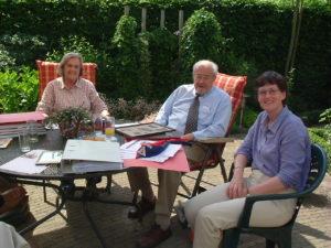 Bezoek Jan, Riet en Ellen Zwiep 2005