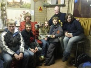 Gorillatocht 2010 - winnende groep