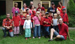 Groepsfoto beverkamp 2006