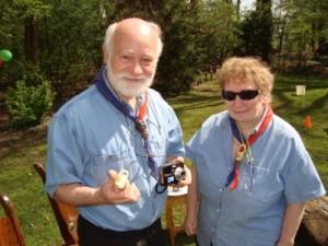 Jubileum 65 jaar Scouting Nanne Zwiep - Bernd en Heidi