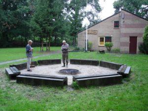 Kampvuurkuil renovatie 2006