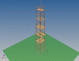 Serious Request 2012 - schetsontwerp toren