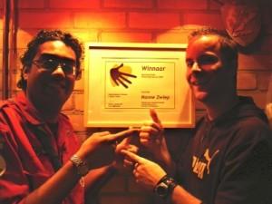 Gemeentelijke Vrijwilligersprijs 2007 Enschede voor Scouting Nanne Zwiep