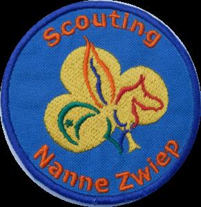 Groepsbadge Scouting Nanne Zwiep