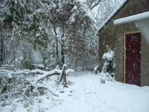 Sneeuwoverlast 26 november 2005